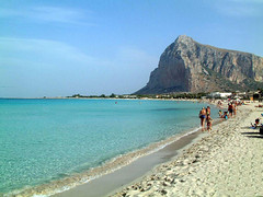 San Vito lo Capo in Sicily, one of italy's most famous beaches