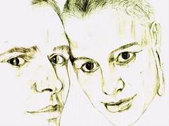 Lucas / Thaís (Lucas Yahn) Tags: canon retrato lucas draw papel lápis mão desenho caneta yahn