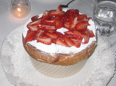 Cafe Jacqueline in San Francisco - Strawberry Souffle