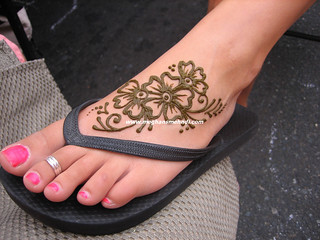 Foot flowers