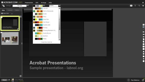 Adobe's Online Presentation