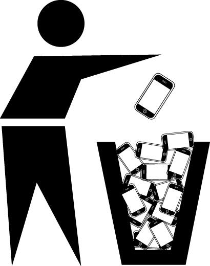 Garbage iPhones