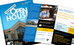 Open House Brochure (ben.bibikov) Tags: house office flyer lab technology open dental full announcement medical business company invitation doctor page laboratory doctors openhouse fullpage sensable babichenko