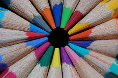 """Lpices de colores (1)"" (Marcelo Savoini) Tags: colors closeup pencils 50mm nikon colorful colours colores lpices colorida acercamiento d40"