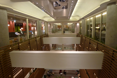 The 14th floor of Takashimaya