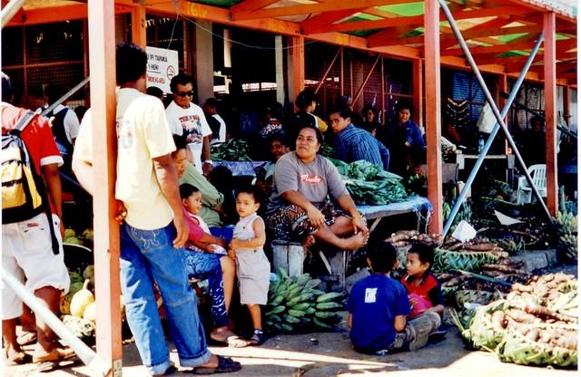 Tonga - Nuku'alofa market 1