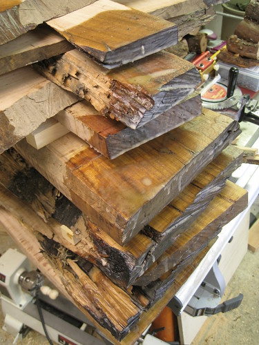 sealed Eucalyptus slab ends