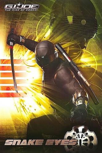 G.I. Joe: Rise of Cobra Snake Eyes