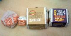 McDonalds für Mittag