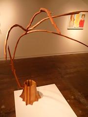 Untitled (Reaching Stump) Charles Hobbs 2008 (charleswesleyhobbs) Tags: wood sculpture art charles charlie hobbs ollman fleisher