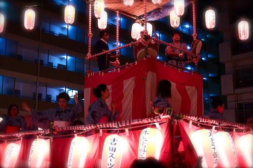 People Celebrating Obon In Kokubunji