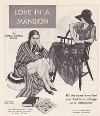 1930 Magazine Illustration (wotdoin) Tags: ladies art collage paper mixedmedia illustrations artdeco alteredart vintagemagazine