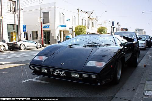lamborghini countach lp5000s. Lamborghini Countach LP5000 S (foregound) abd Lamborghini Diablo 6.0 VT (background) Toorak, Victoria, Australia