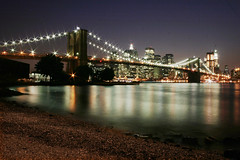 New York (neelgolapi) Tags: new york city newyorkcity bridge newyork brooklyn glory dumbo brooklynbridge nightlife newyorkatnight explored