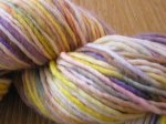 """Cheery Day"" on Single Ply Superwash Merino - 3.35 oz~~Penny First Class Ship"