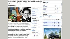 Vancouver Olympics design head dies suddenly at 40_1251421404092