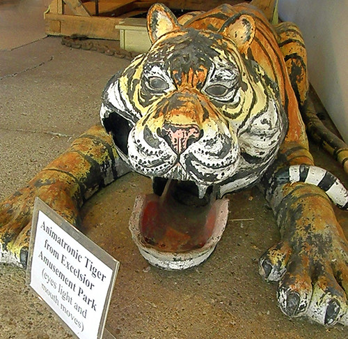 Animatronic tiger