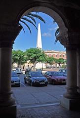 Zahnstocher (lg Fotografi) Tags: spain espana toothpick obelisk menorca spanien ciutadella zahnstocher stuzzicadenti mondadientes tandpetare