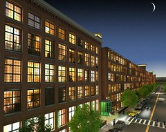 historic mills, like this one in Lawrence, MA, can be adapted to modern uses (by: Mass Innovation)