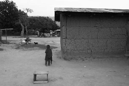Village kid...