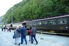 Sightseeing excursion train