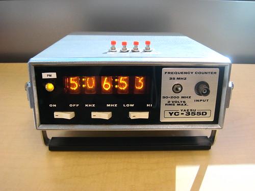 msarnoff org - Nixie Clock I