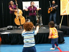The Kerplunks perform at the 2009 Vancouver Island Baby Fair in Victoria