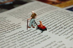 Dogged (JD Hancock) Tags: favorite dog macro scale walking wagon fun miniature interesting little small perspective explore cc tiny figure ho childish 1k hoscale theotherside nogeo littledudes inkitchen macromondays galleried jdhancock