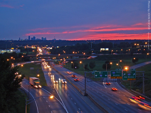 Kansas City Skyline & I-70