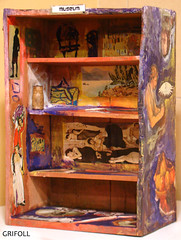 Grifoll- Museum- 40X27X17 (2) (GRIFOLL Art & Folish Games) Tags: california sculpture tree green art water yellow museum canon pepper 50mm design la blog drops google mixed media gallery foto arte tate pics amor object gorgeous web fine charles images front photographic best explore galleries viajes adobe picasso pre 09 fotos artistas page poesia drips bloc visual thursday thyssen frases justicia linea 2010 facebook artesania bitacora emergent rarities cajas marcada abello trouve i picassomio koplowitz hggt dwwg poeticacrapulistica