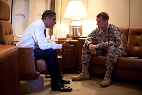McChrystal disses Obama