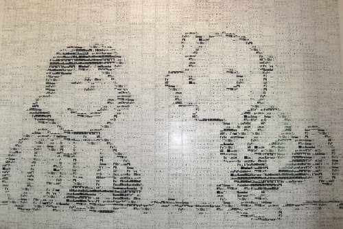 California - Santa Rosa: Charles M. Schulz Museum and Research Center - Peanuts Tile Mural