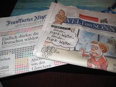 Frankfurter Allgemeine Sonntagszeitung (FAS) und Welt am Sonntag (WamS)