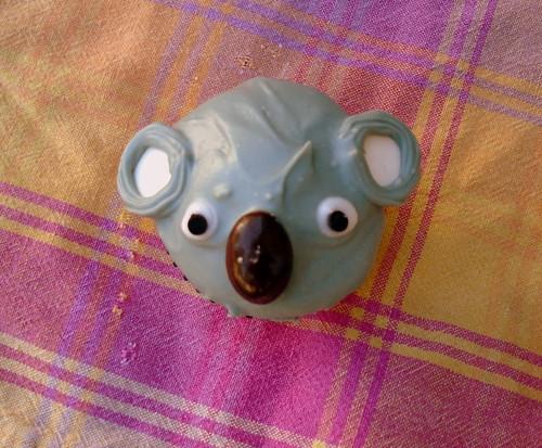 koala cupcake!