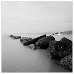 Some part in Cherating, Malaysia (Arilphotography) Tags: longexposure beach nikon malaysia squarecrop longshutter cherating d300 flickrsbest nikon1755mm malaysiabeach cheratingpoint