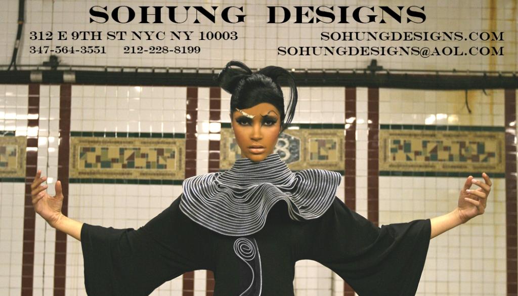 Sohung Designs zipper fashions 5