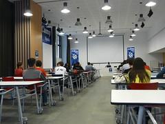 La sala de la Wordcamp 09