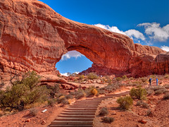 The North Window, Arches National Park (Walter Ezell) Tags: utah arches moab archesnationalpark thenorthwindow4534567