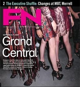 footwear news cover september 21 2009
