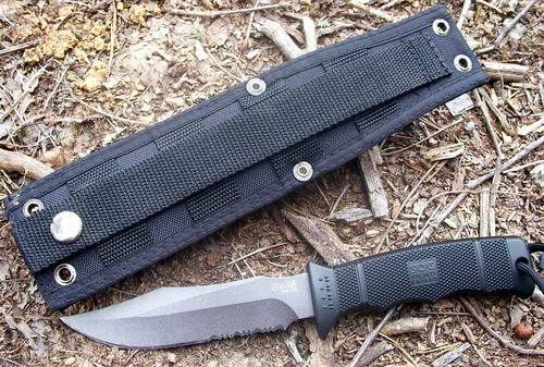Back of the SOG sheath