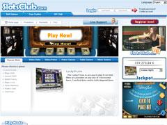 Slots Club Casino Lobby