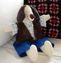 dudu (pudim_de_pano) Tags: de pano artesanato cachorro boneca costura