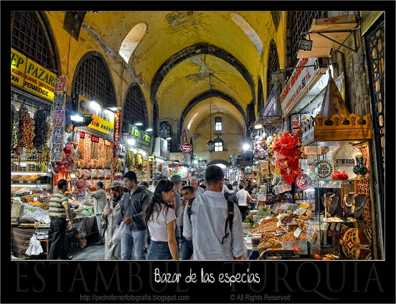 Bazar de las especias (Bazar Egipcio)