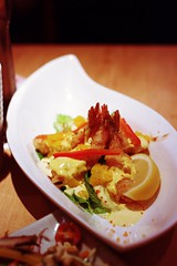 Day 277 - Deep Fried Prawns with Mango Mayonnaise