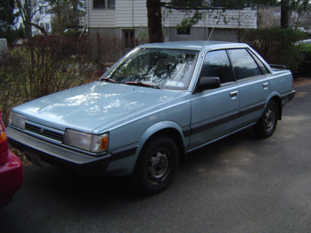 1991 subaru loyale. i don't have this car anymore. but it was a good one.