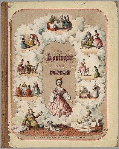 De koningin der poppen, printed in Amsterdam, 1867