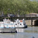 Carcassonne: le Canal du Midi