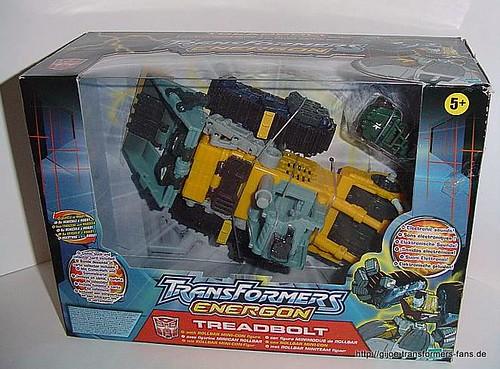 Treadbolt Energon  Mega-Class Transformers  001