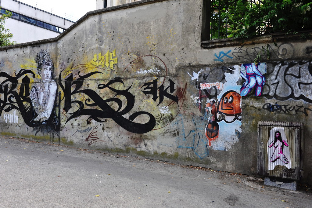 Killed & Essegee next to C215 in Vitry