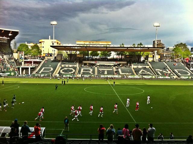 Portland Timbers v Ajax